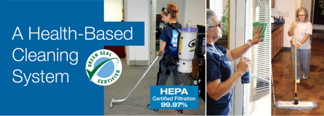 MPS's health-based cleaning system.