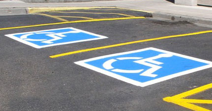 Mainstreet Property Services offers commercial parking lot painting and repair.