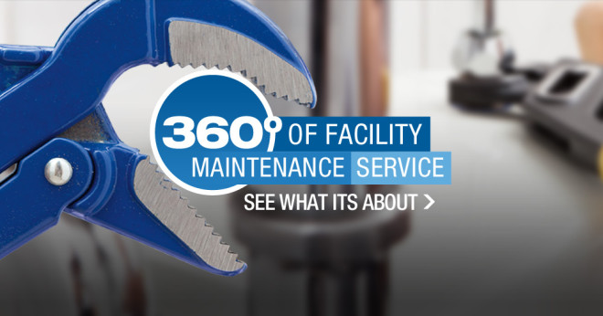 Mainstreet Property Services offers 360 degrees of facility maintenance service.