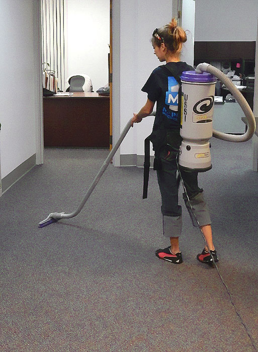 MPS tech with HEPPA Certified Vaccuum