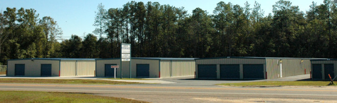 Commercial storage unit facility constructed by MPS.