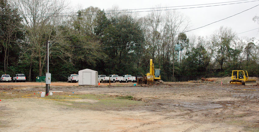 MPS specialty services include land clearing and grading.
